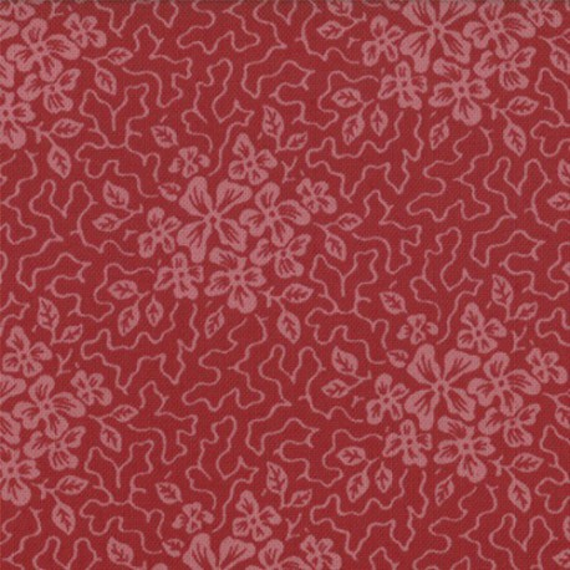Mill Book series circa 1835 crackle floral 46157 26