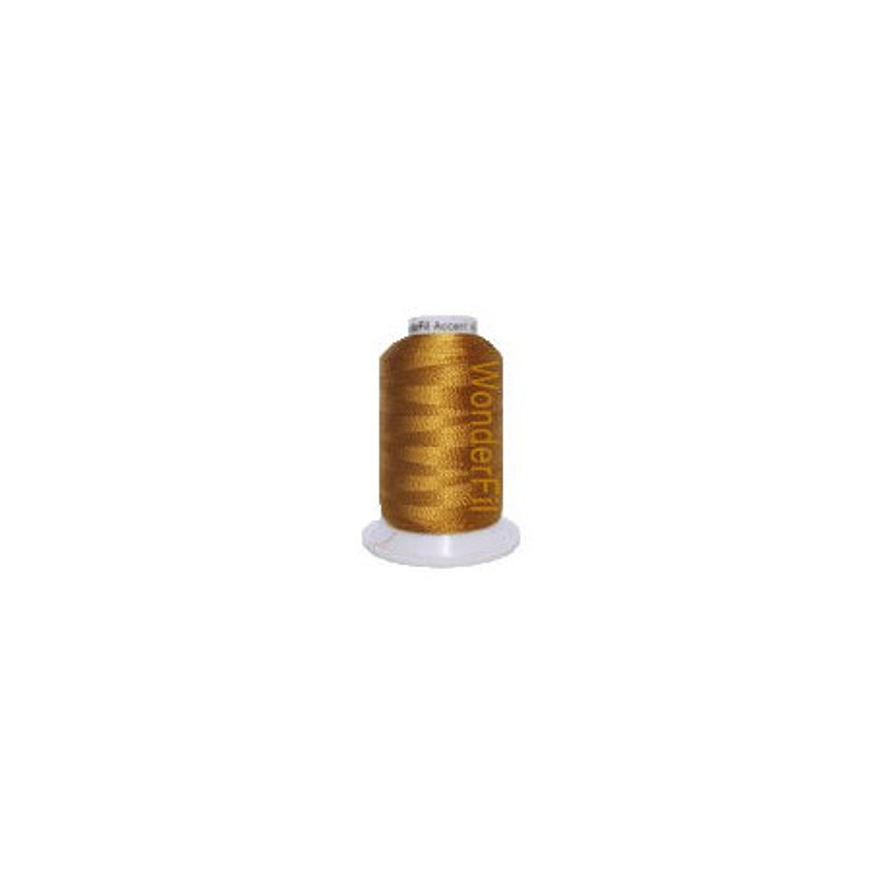 WonderFil garen Accent Dark Gold AC2121 400 meter