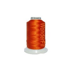 WonderFil garen Accent Orange AC27 400 meter