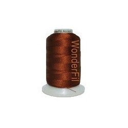WonderFil garen Accent Dark Copper Brown AC7123 400 meter