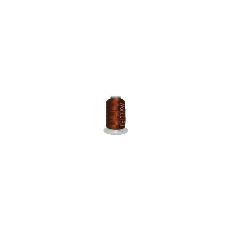 WonderFil garen Accent Dark Copper Brown AC7123 400 meter