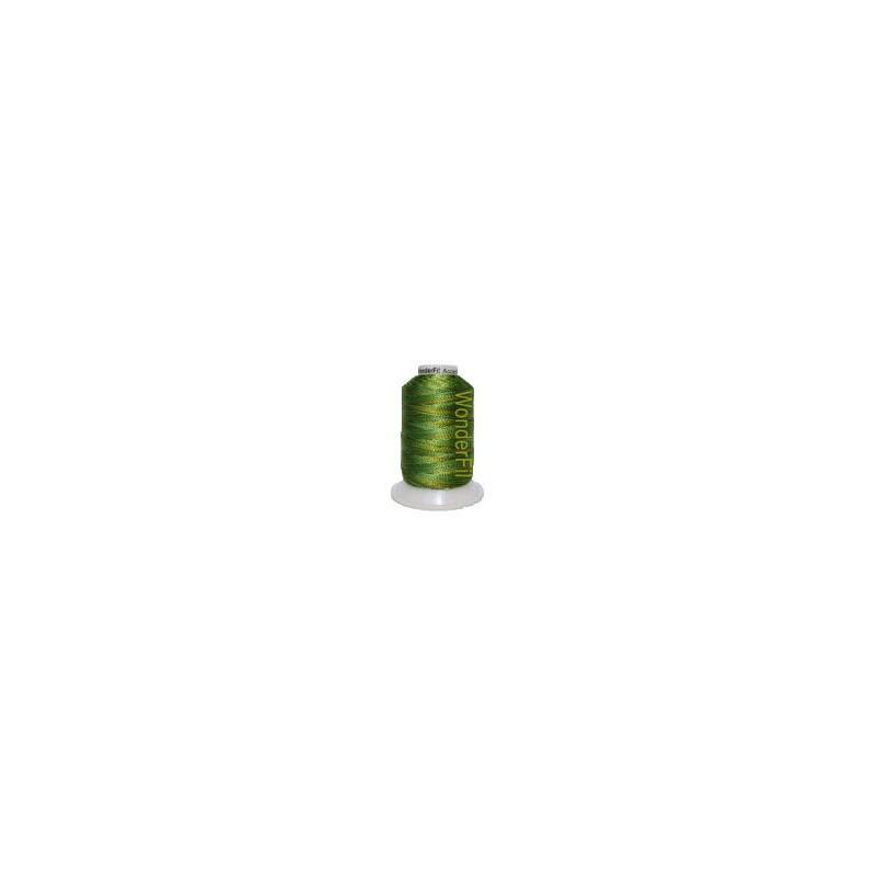WonderFil garen Accent Multi Green Foliage ACM-16 400 meter