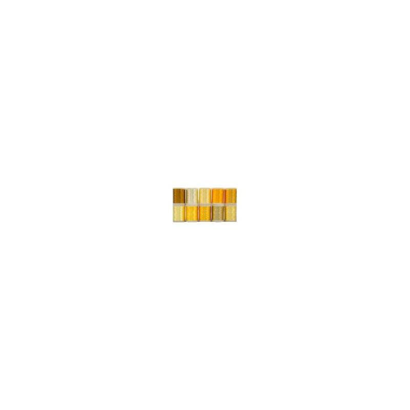 WonderFil garenbox Rayon Harmony Yellow