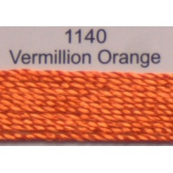 WonderFil garen Razzle Vermillion Orange 1140 50 yard
