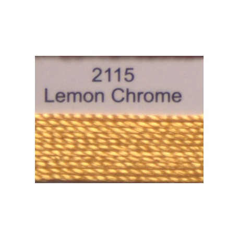 WonderFil garen Razzle Lemon Chrome 2115 50 yard
