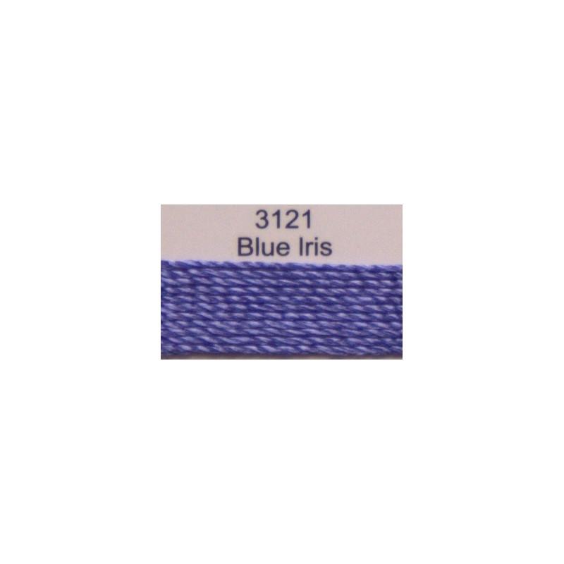 WonderFil garen Razzle Blue Iris 3121 50 yard