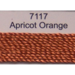 WonderFil garen Razzle Apricot Orange 7117 50 yard