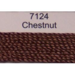 WonderFil garen Razzle Chestnut 7124 50 yard