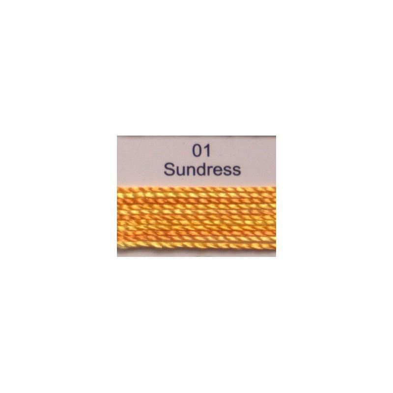 WonderFil garen Razzle Sundress 01 50 yard
