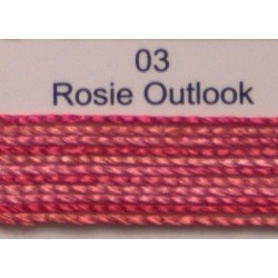 WonderFil garen Razzle Rosie Outlook 03 50 yard