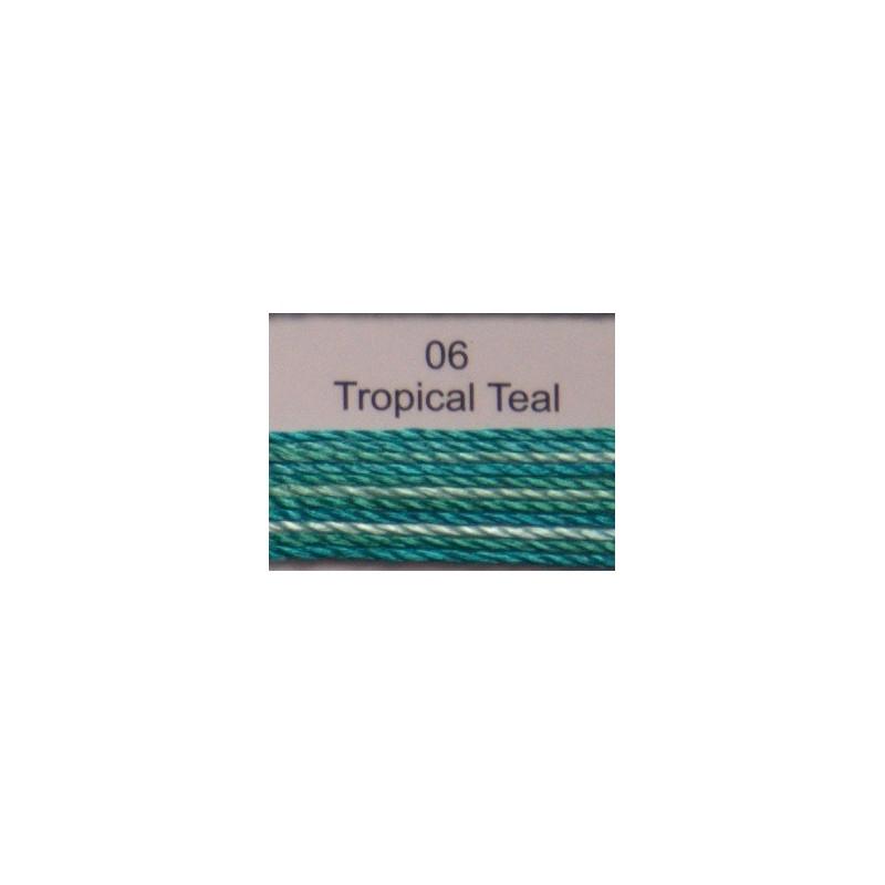 WonderFil garen Razzle Tropical Teal 06 50 yard
