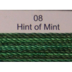 WonderFil garen Razzle Hint of Mint 08 50 yard