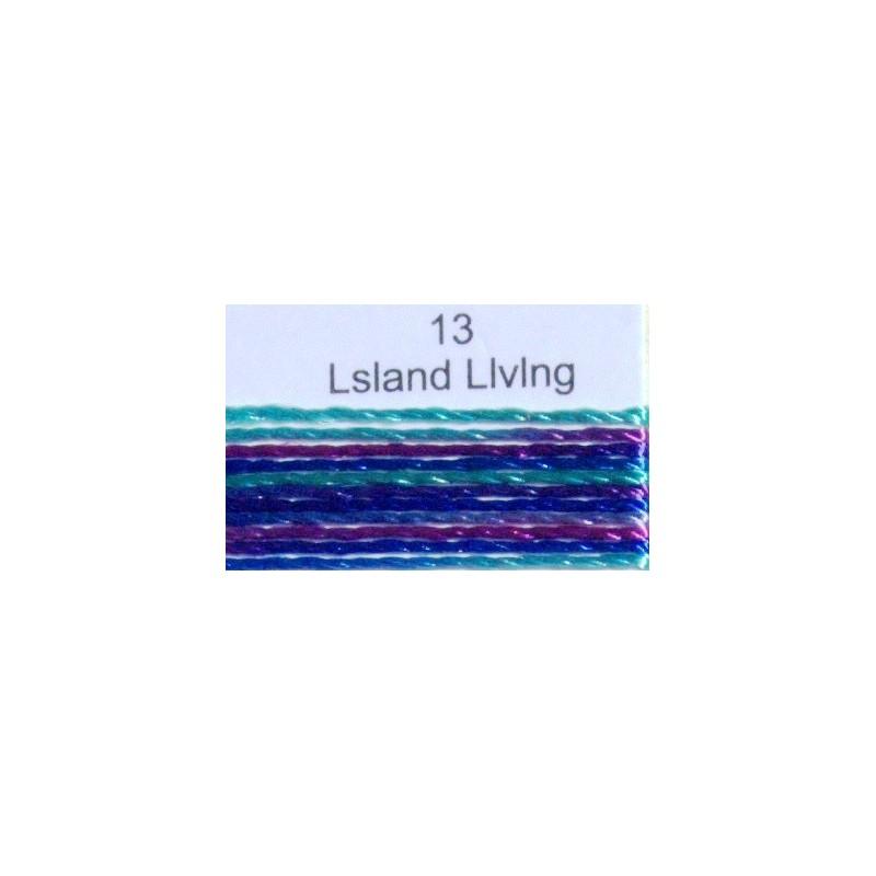 WonderFil garen Razzle Lsland Living 13 50 yard