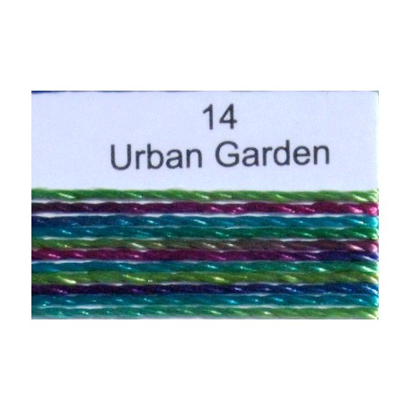 WonderFil garen Razzle Urban Garden 14 50 yard