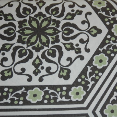 Star flower tiles HDABS8.ivory