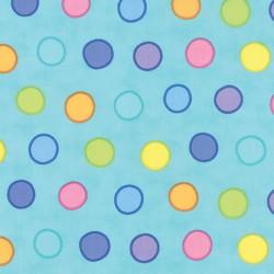 Dot Dot Dash turquoise 22262 16