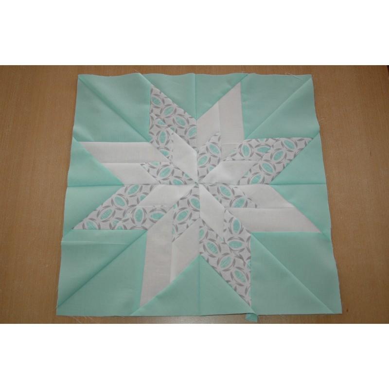 Workshop Blazing Star op de naaimachine volgens afspraak elke dinsdag, woensdag en zaterdagmiddag van 14.00-17.00 uur