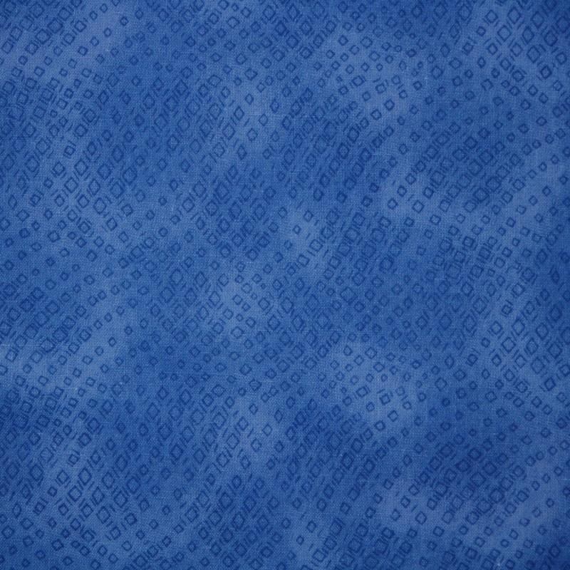 Cotton Print 0802 vierkant blauw