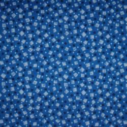 Cotton Print 0806 vierkant blauw