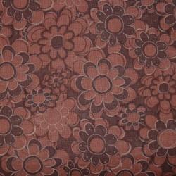 Cotton Print 5002 bloem bruin