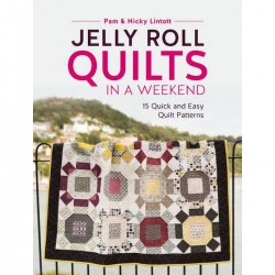 Boek Jelly roll quilts in a weekend