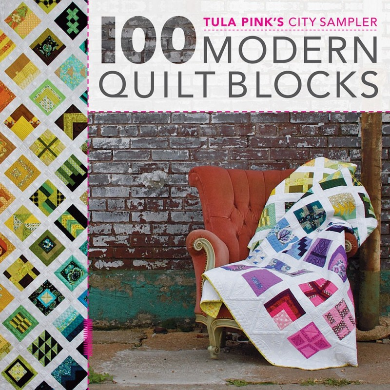 Boek 100 Modern Quilt blocks door Tula Pink