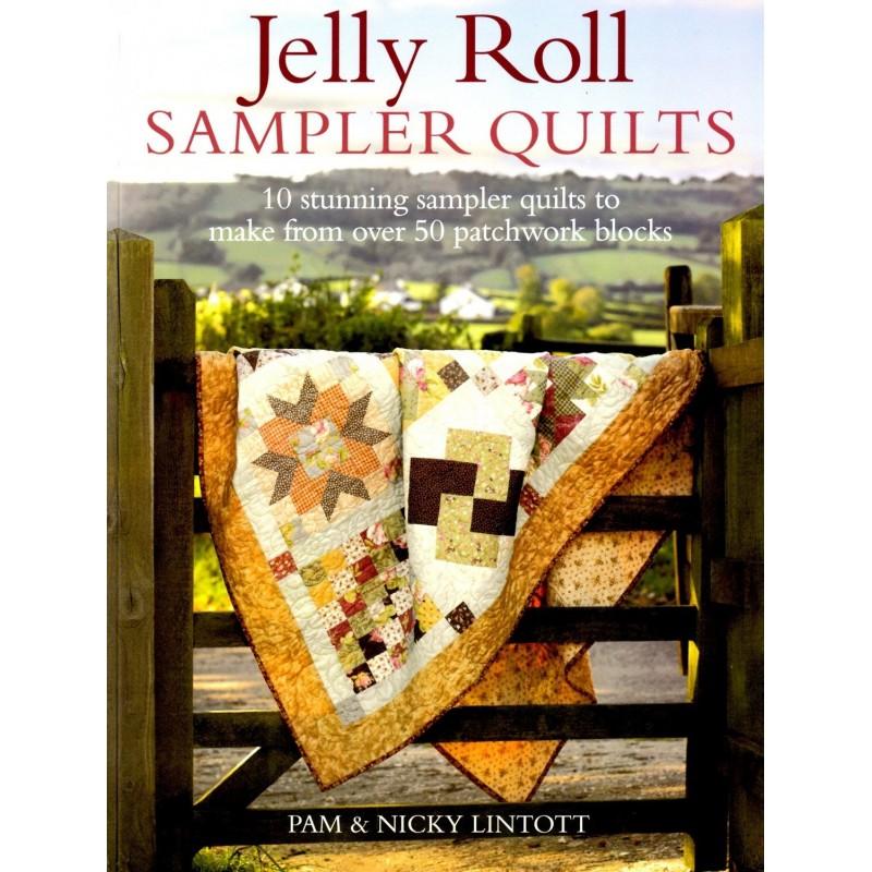 Boek jelly roll sampler quilts