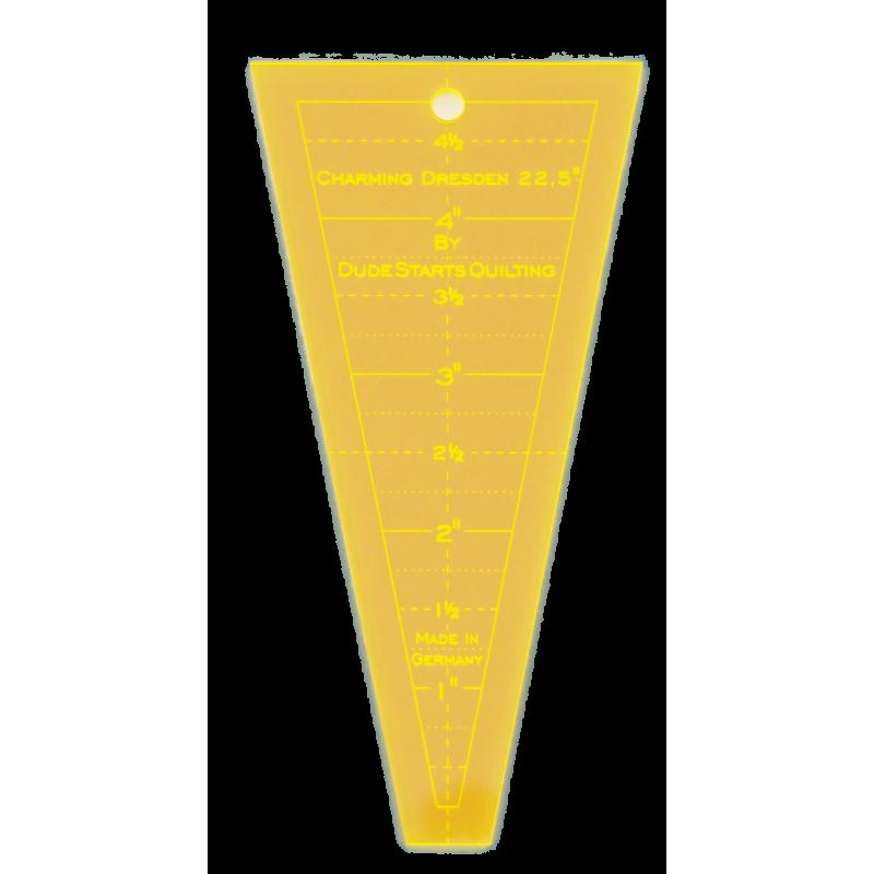 22,5 graden Charming dresden lineaal