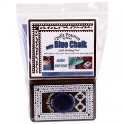 Quilt Pounce Pad Set Blue Chalk QPB