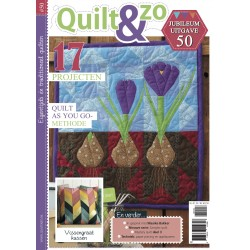 Tijdschrift Quilt&Zo nummer 50