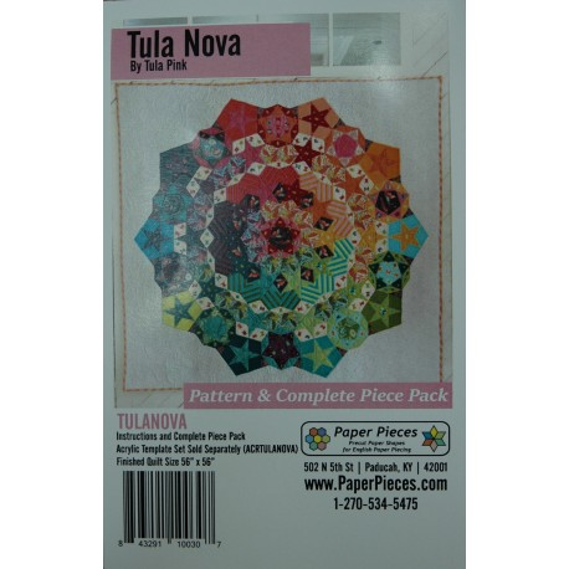 English paper piece Tula Nova 224ACRtulanova