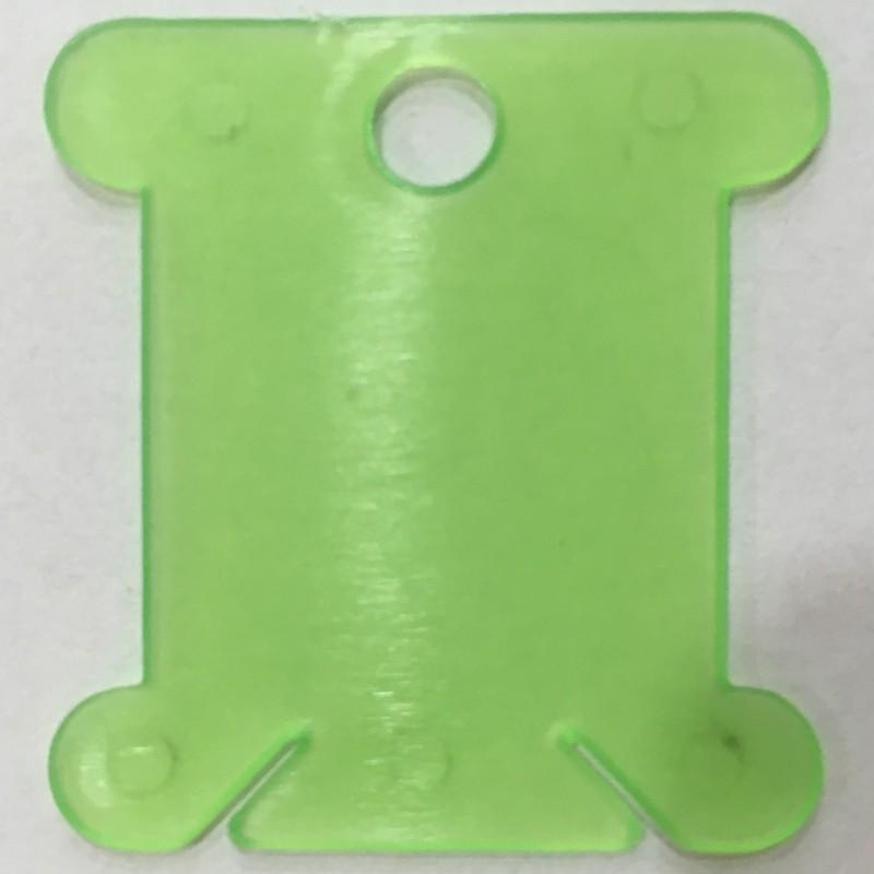 Wikkelkaart plastic 100225