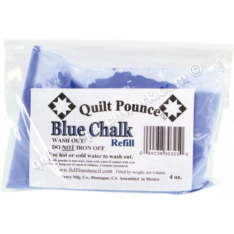Blue Chalk Refill Q7B