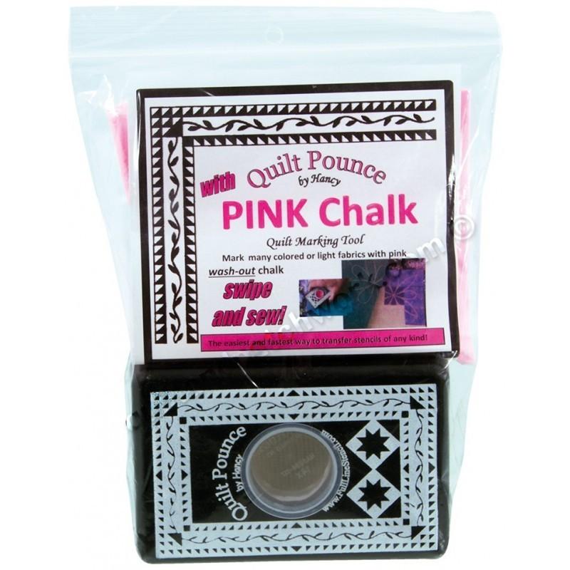 Quilt Pounce Pad Set Pink Chalk QPP