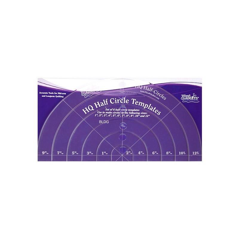 HQ Half Circle Templates HG00416