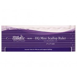 HQ Mini Scallop Ruler HG00602