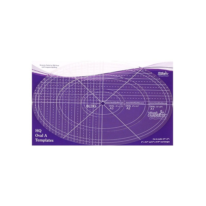 HQ Oval A Templates HG00617