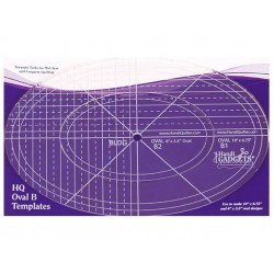 HQ Oval B Templates HG00618