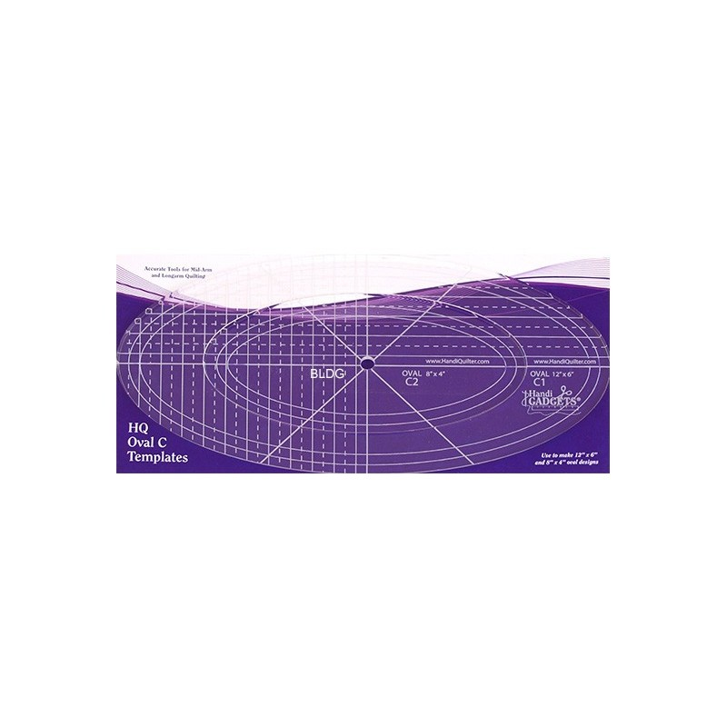 HQ Oval C Templates HG00619