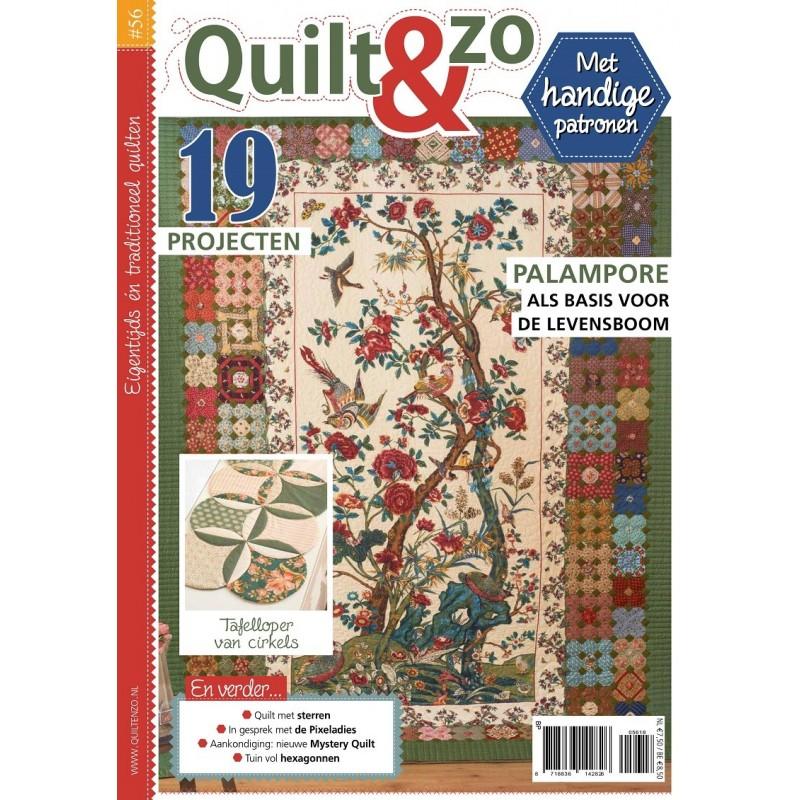 Tijdschrift Quilt&Zo nummer 55