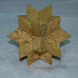 Pakket kerstster in 3D