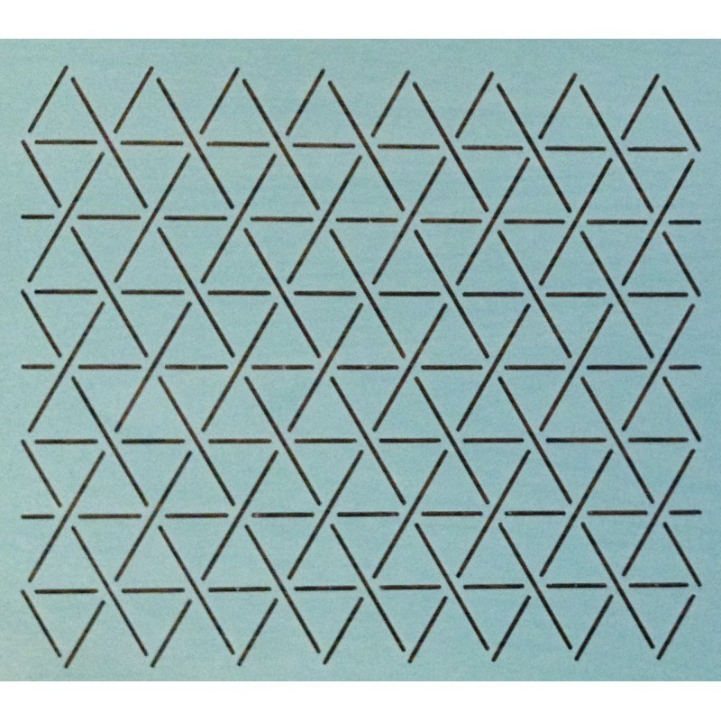 """1"""" Hexie Grid quiltsjabloon SCL-608-09"""
