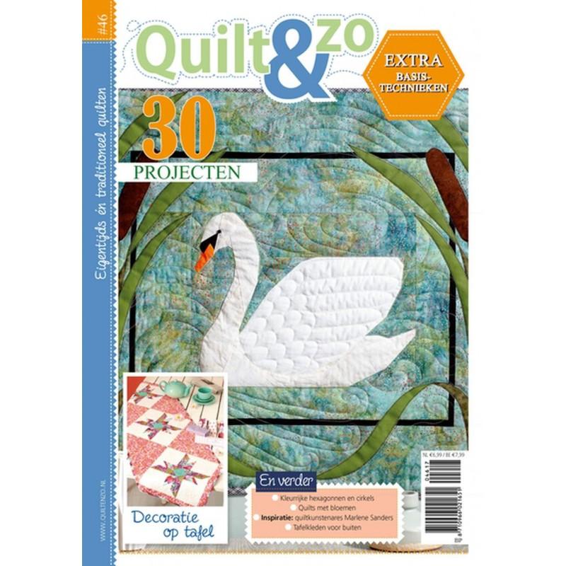 Tijdschrift Quilt&Zo nummer 46