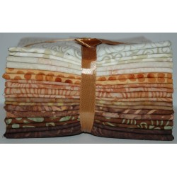 Fat Quarter bundel Bali Batiks Originale earth