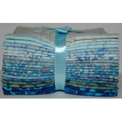 Fat Quarter bundel Bali Batiks Originale sky