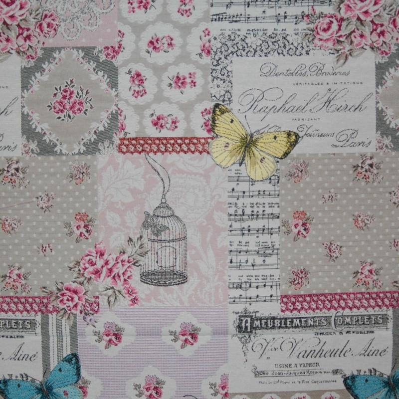 Gobelin France roze