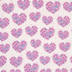 Flowers Aplenty Hearts and Flowers CX4913-peony
