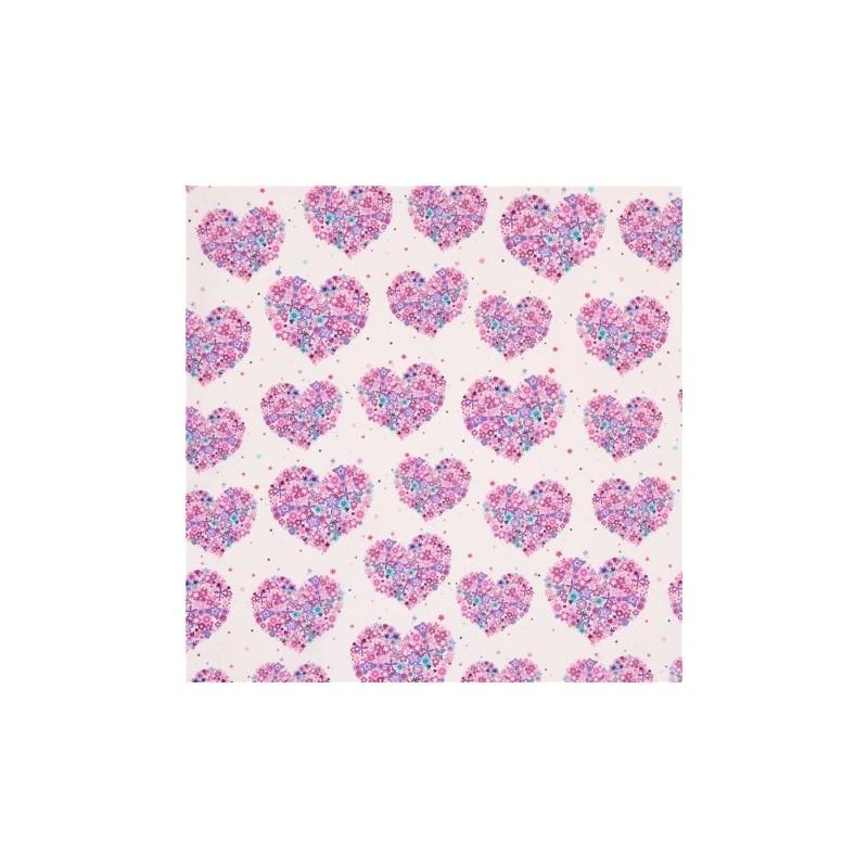 Flowers Aplenty Hearts and Flowers CX4913-peony