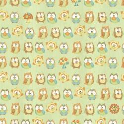 Hoot! Hoot! Hooray! Owls yellow 6503-66