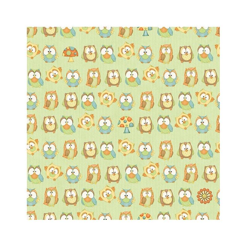 Hoot! Hoot! Hooray! Owls yellow 6503-66